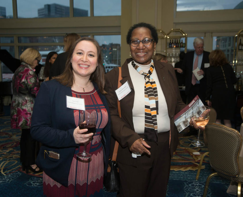 Ana Cruz (Greater Boston Legal Services) and Jacquelynne J. Bowman (Greater Boston Legal Services).