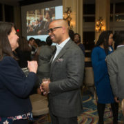 Deborah Kirrane (GE) and Demond Martin (Adage Capital Management, L.P.)