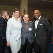 "Representative Joan Meschino, John A. Harre, and Senator William ""Mo"" Cowan (GE)"