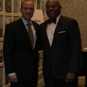 "Senator William ""Mo"" Cowan (GE) and George Atanasov (Johnson & Johnson)"